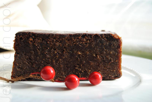 Guyana Black Rum Cake Recipe