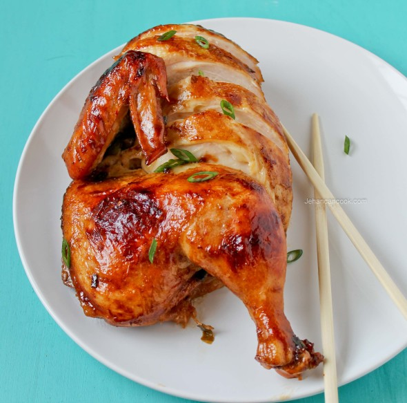 Take out at home: Roast Chinese Chicken