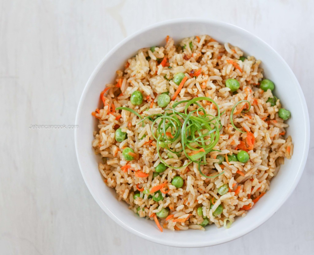 TAKE-OUT AT HOME: VEGETABLE FRIED RICE - Jehan Can CookJehan Can Cook