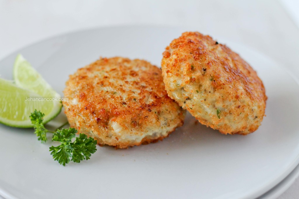 Tilapia fishcakes jehan can cook for Baked fish cakes