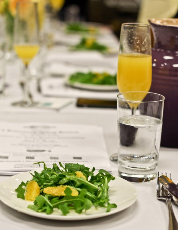 OUT AND ABOUT: A REFRESHING SPRING BRUNCH
