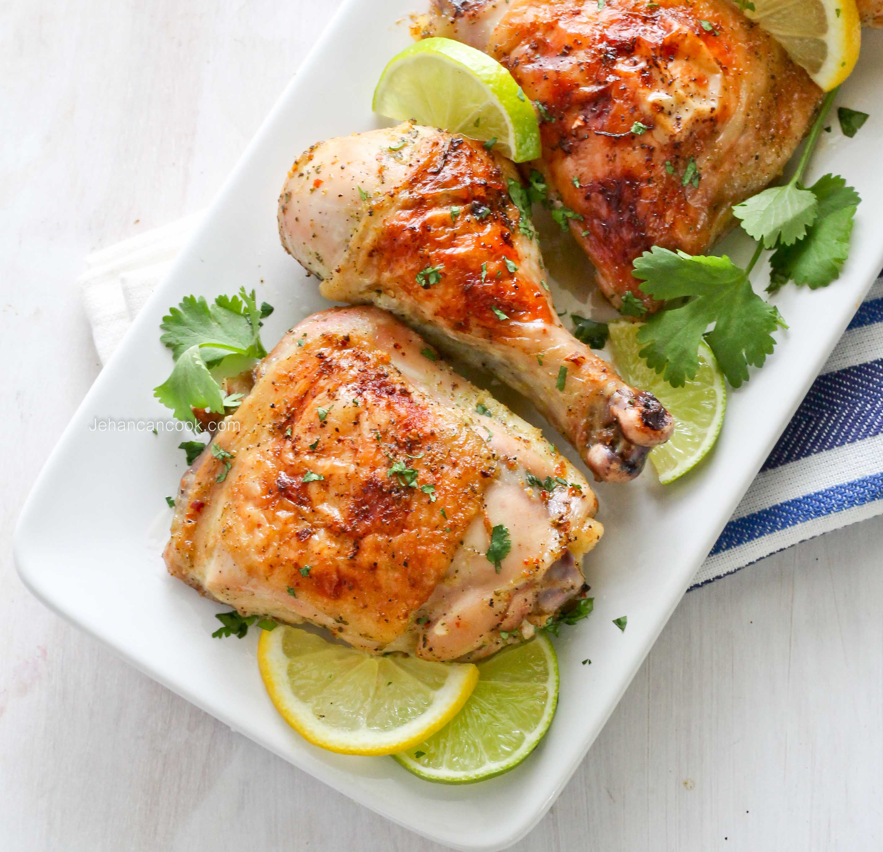 CITRUS HERB ROAST CHICKEN - Jehan Can CookJehan Can Cook