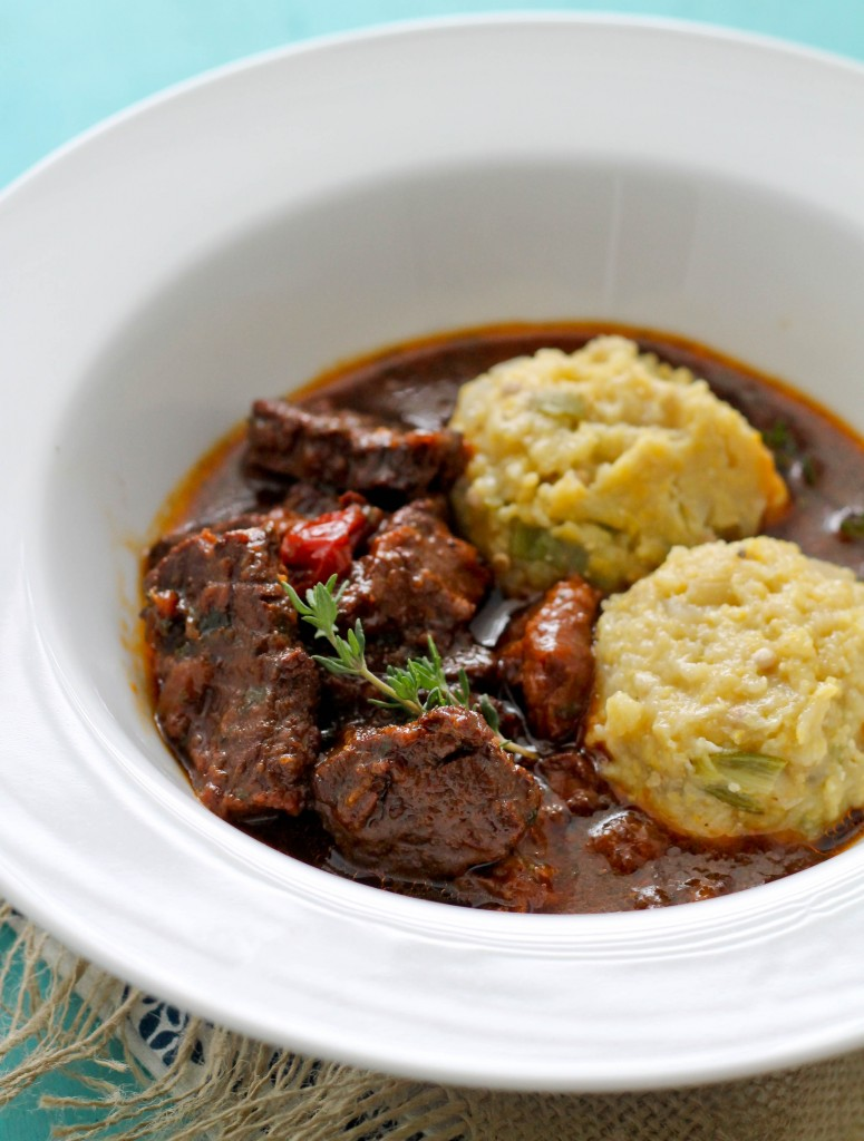 Beef Stew and cou cou (3)