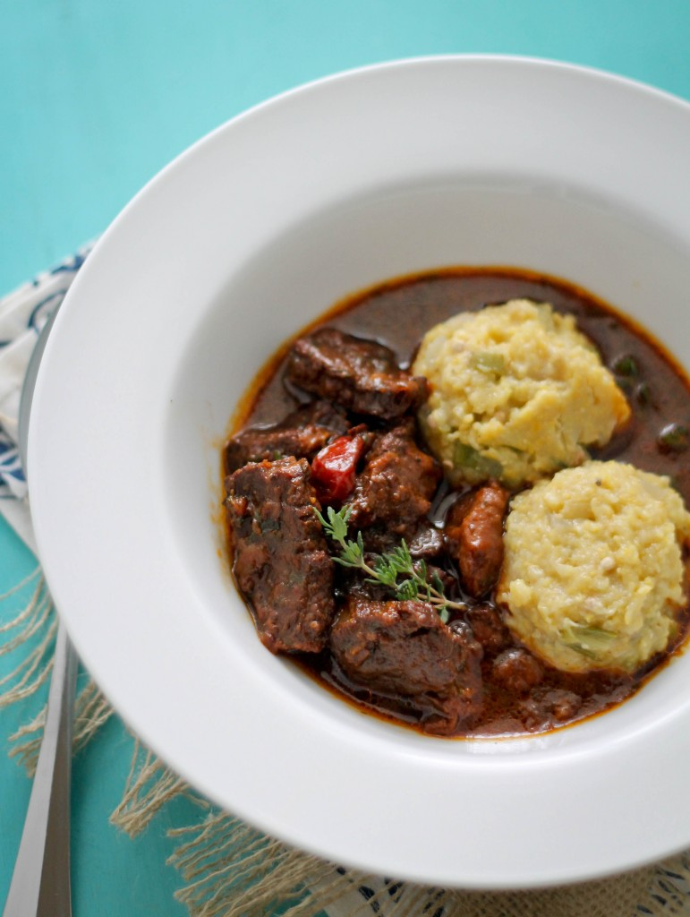 Beef Stew and cou cou (5)