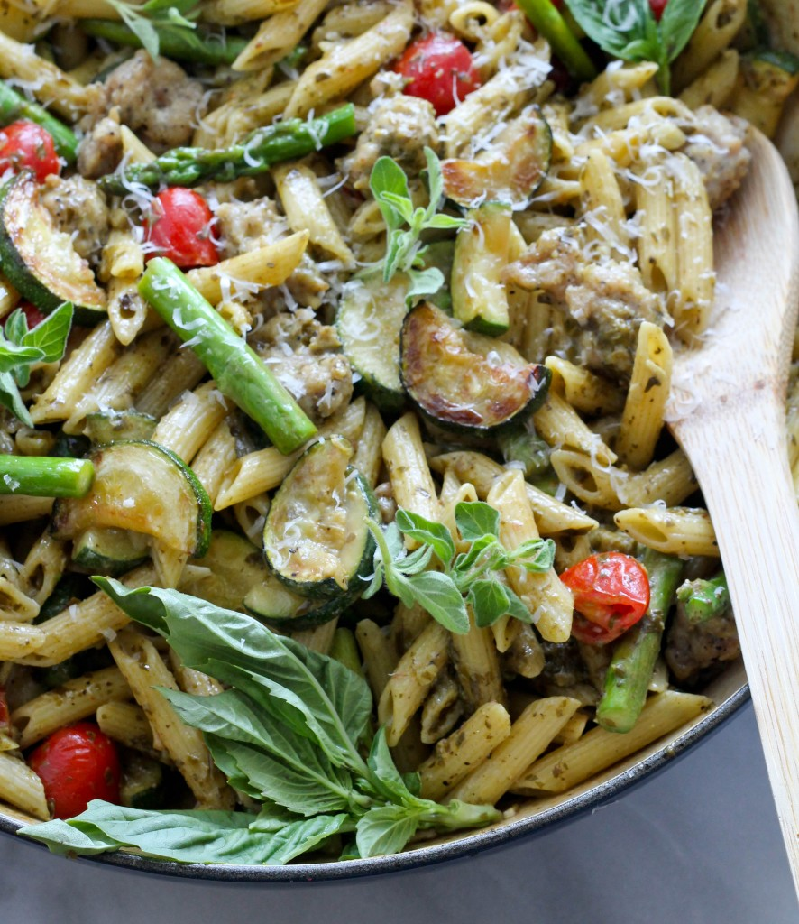 Creamy Pesto Pasta (1 of 1)-7