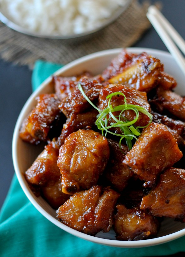 SWEET AND SOUR RIB TIPS